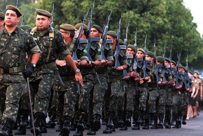 Quartéis do Exército em Barueri
